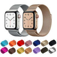 Magnetic Milanese Loop Band Strap For Apple Watch Series 6 SE 5 4 3 2 1 40/44MM