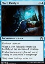 Sleep Paralysis NM X4 Shadows Over Innistrad MTG Blue Common