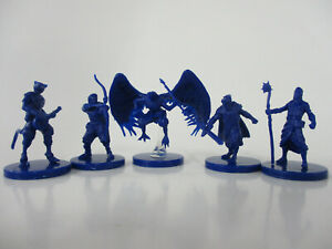 D&D Tomb Of Annihilation Board Game 5 HEROES Miniature Figures WOTC NEW!!