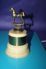 1940s Vintage Horse Show Trophy not engraved Dodge inc brass bakelite