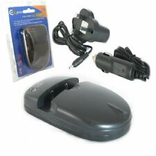 Ex-Pro Uni-Charge Mains +Car Universal Lithium Ion Battery Charger for Camcorder