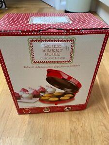 Home Sweet Home 6 x Cupcake Maker (including recipes) - New