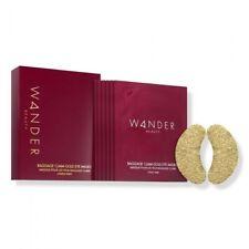 Wander Beauty Baggage Claim Gold Eye Masks 6 Pairs NIB New