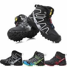 Men's Speed 3 CS Hikking Outdoor Snow Boots High top Sports Fleece Shoes