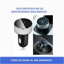 Dual USB Mechero Cargador de Coche 3.1A LCD Movil Teléfono MP3 GPS Adaptador USB