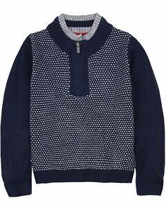 BOBOLI Boys Pullover with Zip Placket, Sizes 4-16