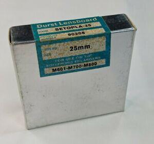 Durst Setopla 25 LENSBOARD 25mm LAPLA M601-M700-M800
