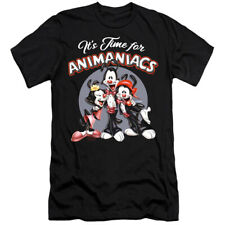ANIMANIACS ITS TIME FOR Licensed Adult Men's Graphic Tee Shirt SM-6XL