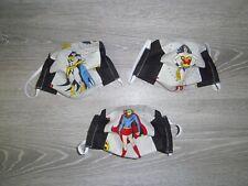 Custom Wonder Woman, Bat Girl, Super Girl Adult Face Masks Child size available
