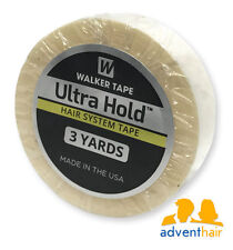 "Ultra Hold Tape Roll 1/2"" x 3 yds WALKER lace wigs toupee hairpiece"