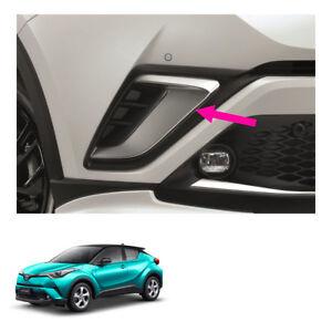 Front Bumper Garnish Silver Cover Trim Genuine Fits Toyota C-HR Suv 2018 - 2019