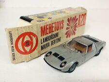 MEBETOYS LAMBORGHINI MIURA BERTONE A20 ALL ORIGINAL Made In Italy 1/43