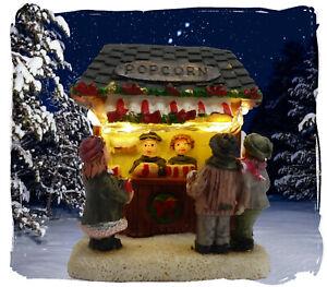 Winterkinder Lichterhaus Weihnachtshaus Weihnachtsdorf Winterdorf beleuchtet LED