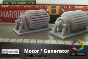 Model Railway Diorama- Industrial Generator / Motor - Large Wagon Load set of 2