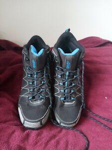 Hi-Tec walking hiking shoes womens size 9 or UK 8 trail softshell waterproof vgc