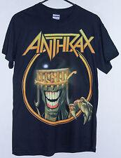 ANTHRAX 2013 DEATH DOWN UNDER AUSTRALIAN TOUR T-SHIRT SIZE: SMALL