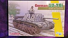 DRAGON 6856 1:35 German SU-76i w/ Cupola Assault Gun Model Model Kit SEALED BAGS