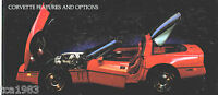 1985 Chevy CORVETTE Dealer Sales Brochure / Catalog  FREE <USA> SHIP