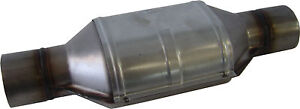 "Universal CERAMIC core Catalytic Converter, 2 1/2"" 400 cell Stainless Steel, NEW"