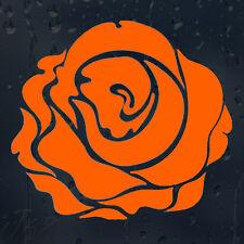 Beautiful Orange Flower Rose Car Decal Vinyl Sticker
