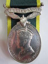 British Territorial Efficiency medal George VI - Pte. R. Ruse R.A.S.C.