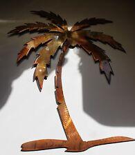 """Palm Tree Metal Wall Art Decor 20"""" tall"""