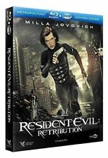 RESIDENT EVIL Retribution NEW Blu-ray + DVD FREE Postage - mmoetwil@hotmail.com