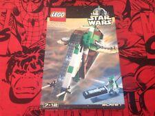 Lego Star Wars Boba Fett esclavo 1 7144 Raro retirado 2000 Nuevo Caja Sellada De Fábrica
