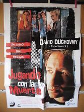 A1837     JUGANDO CON LA MUERTE   David Duchovny.