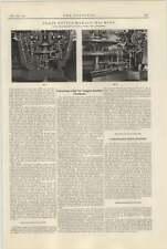 1921 Charles Cooke Manchester Torsion Bending Stress Machine