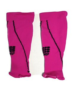 """CEP Compression Calf Sleeves Pink Women's Size ll (99.5-12"""")"""