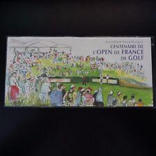 FRANCE BLOC SOUVENIR N°13 OPEN DE FRANCE DE GOLF SOUS BLISTER NEUF ** MNH
