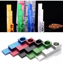 Portable Metal Whistle Shape Magnetic SMOKING PIPE CHROME Folding small pipe