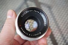 Exakta Carl Zeiss Jena Biotar 58mm f/2 Adapt to Digital Bokeh Germany Chrome