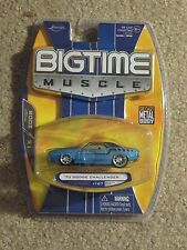 Jada Toys Die-cast Bigtime Muscle 1970 '70 Dodge Challenger Blue 1/64 MOC