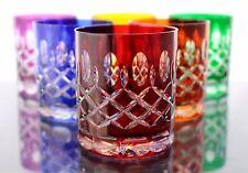 Römer Bleikristall Wisky Gläser 6 x 240ml,(298 CAR) farbig, Wiskyglas, Kristall