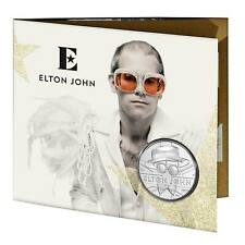 Elton John 2020 Music Legends BUNC UK £5 Coin in Royal Mint Sealed Pack