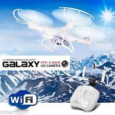 QUADRICOTTERO DRONE WI FI VIDEOCAMERA FOTO 6 ASSI GIROSCOPIO LED 2.4 GALAXY G20