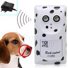 Ultrasonic Humanely Anti No Bark Device Stop Control Dog Barking Hanger Silencer