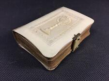 Ancien très beau petit missel paroissien romain époque 19ème old religious book
