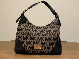 Michael Kors Black Hobo Shoulder Handbag Gently Used