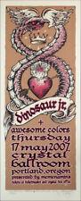 Dinosaur Jr.Jay Mascis Poster Original Signed Silkscreen Gary Houston 2007