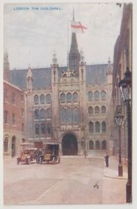 London postcard - london, The Guildhall - P/U 1938 (A851)