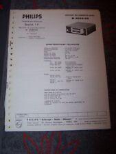 0V Service Manual/Manuel de reparation Philips Magnetophone/Recorder N 2600/00