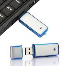 8 GB Grabadora Digital De Voz Dictáfono dispositivo de Escucha Espía Usb Memoria Portátil UK
