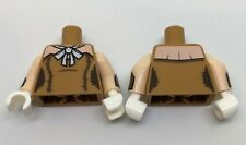 LEGO - Minifig Torso Female Outline / Boosty A - Flesh Shoulders & White Bow