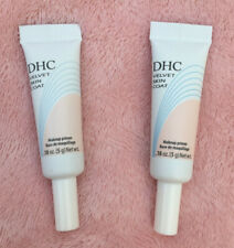 DHC ~ Velvet Skin Coat Makeup Primer Duo ~ 2 x 5g ~ Travel Size / Deluxe Samples