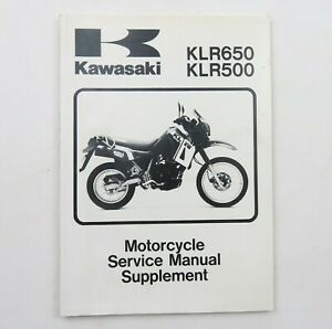 Kawasaki Motorcycle Manuals And Literature Klr Repair For Sale Shop With Afterpay Ebay