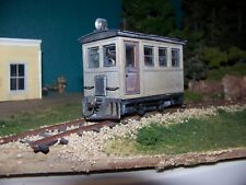 ON30 BOX CAB ,PASSENGER CAB  KIT , FITS  BACHMANN 0-4-0 SIDE ROD AS DONOR MOTOR