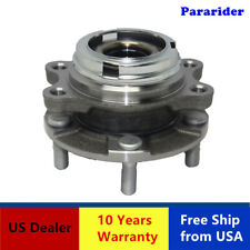 1 Front Wheel Bearing Hub Assembly w/ABS 590125 Fits AWD Infiniti EX35 FX35 FX45